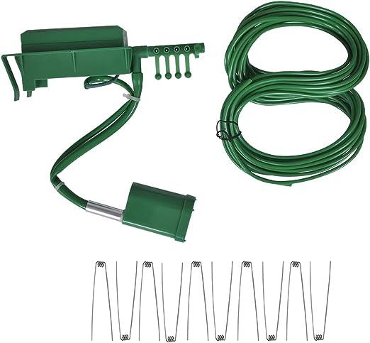 vidaXL Programador de riego Temporizador Sistema automático Pantalla LCD jardín Patio: Amazon.es: Jardín