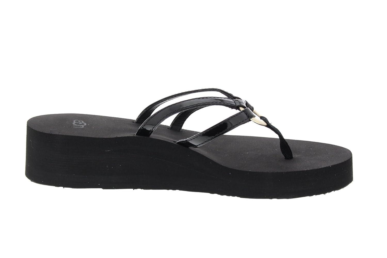Ugg Damenschuhe - Zehentrenner Sandie 1019875 - Black, Größe:36 EU