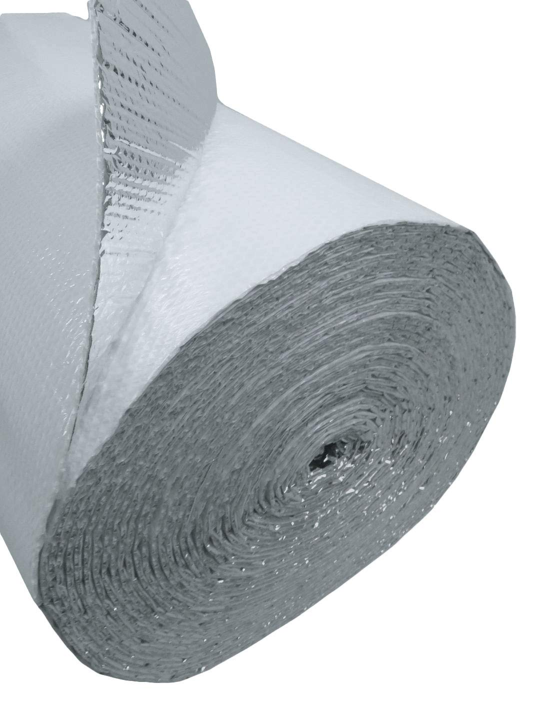 US Energy Products NASATECH 48'' x 125' Single Bubble White Reflective Foil Insulation Vapor Barrier by US Energy Products (Image #2)