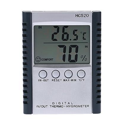 AMZVASO - LCD Digital Indoor/Outdoor Thermometer Hygrometer Temperature Humidity Measurement termometro digital C/