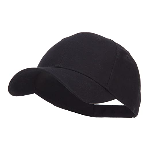 0334bcf03c7 Amazon.com  Youth Brushed Cotton Twill Low Profile Cap - Black OSFM ...