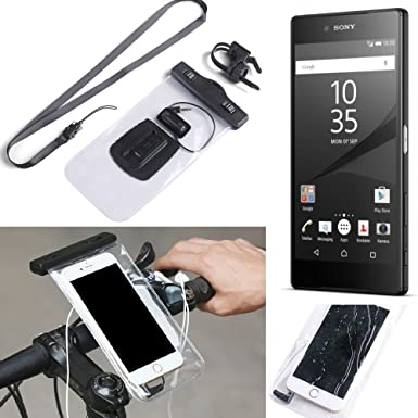 sports shoes 61fe4 0020b K-S-Trade® for Sony Xperia Z5 Premium Bicycle Bracket Mobile Phone ...