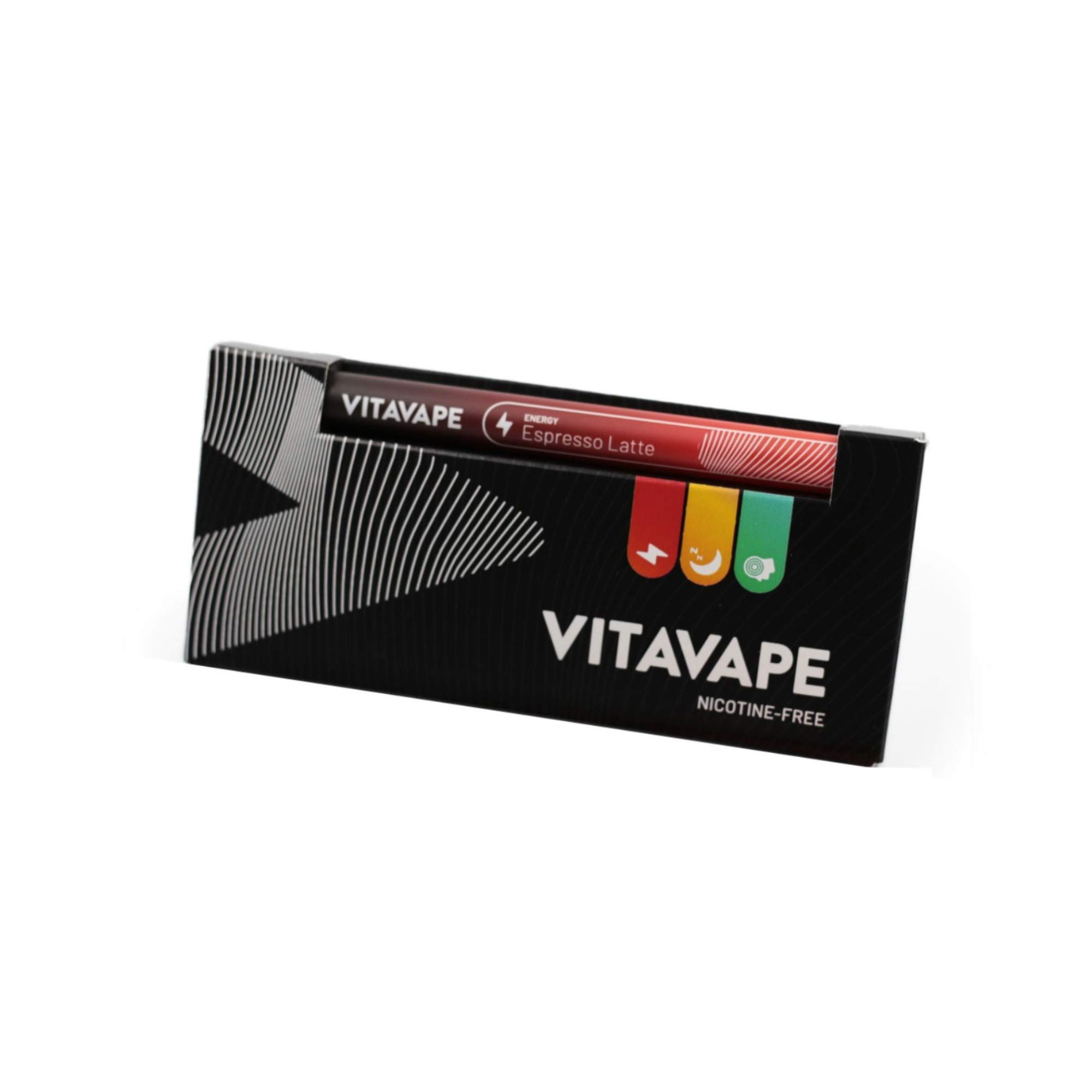VITAVAPE: Energy - all Natural B12 Pen | Hookah Pen With Espresso Latte Flavors | all Natural Essential Oil Vitamin Pen | Designed To Deliver Caffeine Fast by
