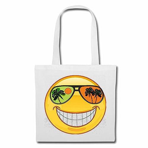 Bolsillo Bolso Bolsa Smiley en AUSENCIA en una isla del Mar ...