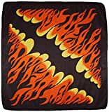 Beistle 60754 Flame Bandana, 22-Inch by 22-Inch