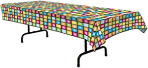 Disco Tablecover Party Accessory (1 count) (1/Pkg)