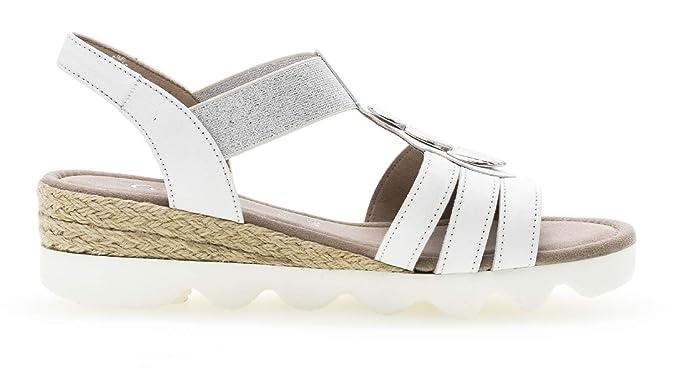 Femme À sandales 752 22 sandales Lanières Gabor Lanières sandale 5LRcq34Aj