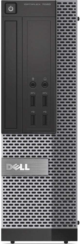 Dell Optiplex 7020-SFF, Core i5-4570 3.2GHz, 8GB RAM, 512GB Solid State Drive, DVDRW, Windows 10 Pro 64Bit (Renewed)