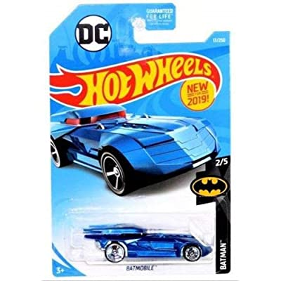 Hot Wheels 2020 DC Batman Batmobile 17/250, Blue: Toys & Games