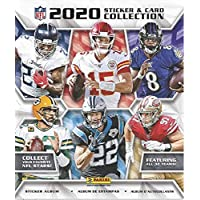 2020 Panini NFL Sticker Collection Album (contains 10 free starter stickers)