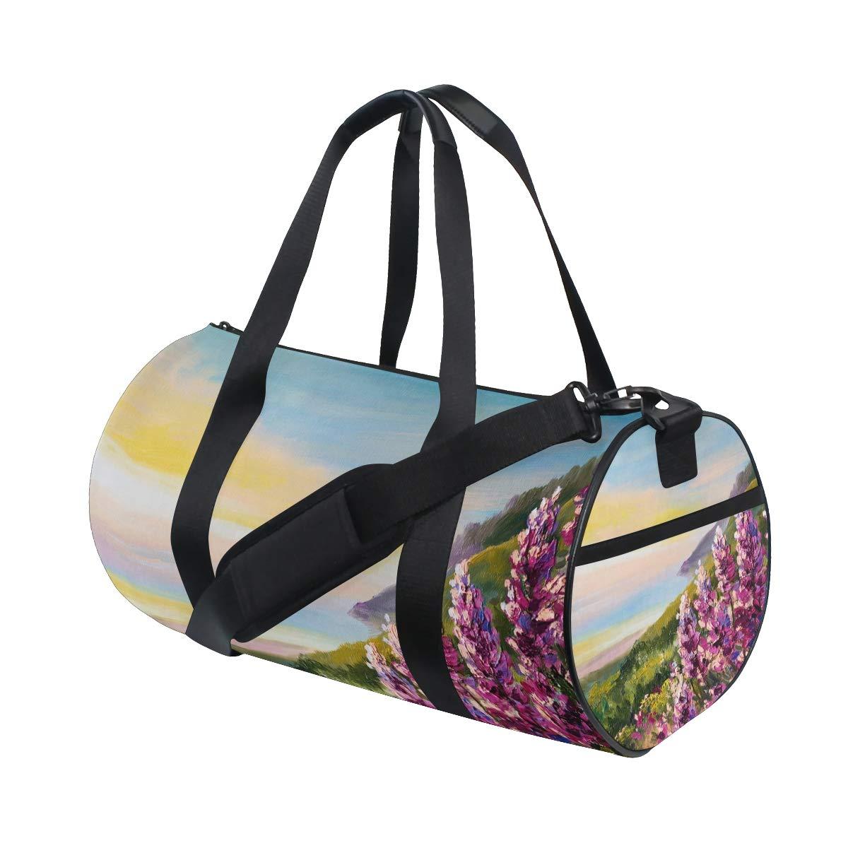 Sports Gym Bag Travel Duffel Bag with Pockets Luggage & Travel Gear Shoulder Strap Fitness Bag