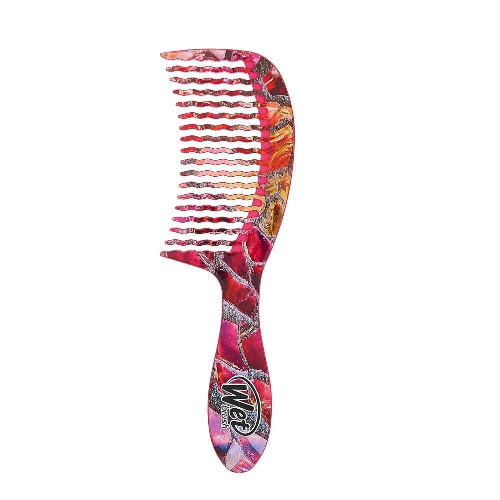 Wet Peine de dientes anchos para desenredar el cabello