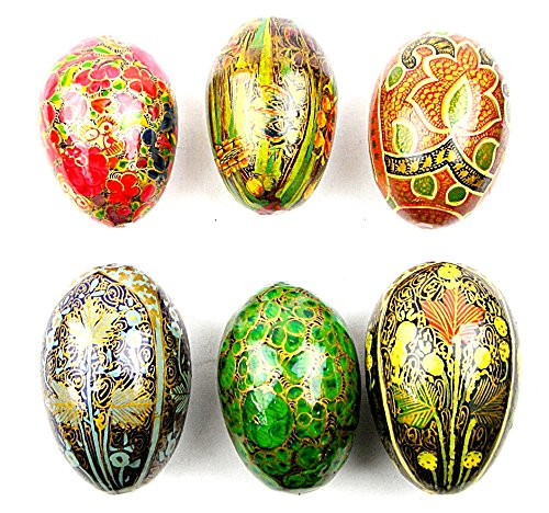 set-of-6-hand-painted-papier-style-wood-eggs-from-kashmir-india