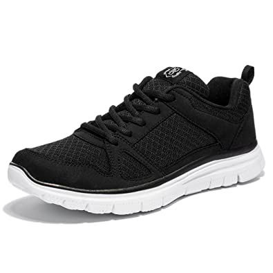 638bc50dba3 NewDenBer NDB Men s Lightweight Lace-Up Fashion Sneakers Comfortable Go Easy  Athletic Running Jogging Walking