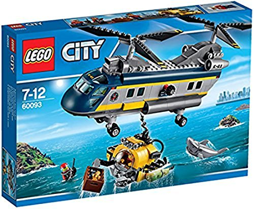 LEGO City Deep Sea Explorers 60093 Helicopter Building Kit