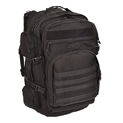 Sandpiper of California Long Range Bugout Backpack (Black, 26x15.5x10.5- 08823bad57