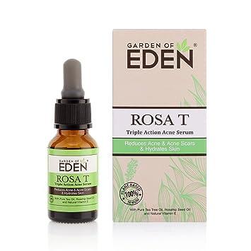 Amazon Com Garden Of Eden Rosa T Acne Serum 0 51 Fl Oz 15ml