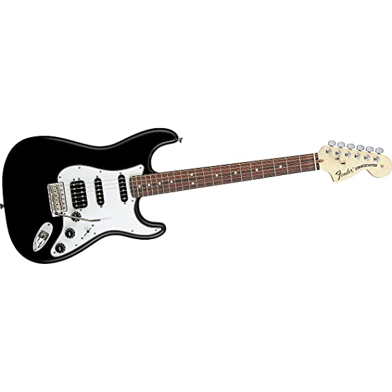 Fender Highway One Stratocaster HSS, diapasón de palisandro para guitarra eléctrica, color negro: Amazon.es: Instrumentos musicales