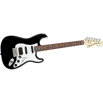 Fender Highway One Stratocaster HSS, diapasón de palisandro para guitarra eléctrica, color negro