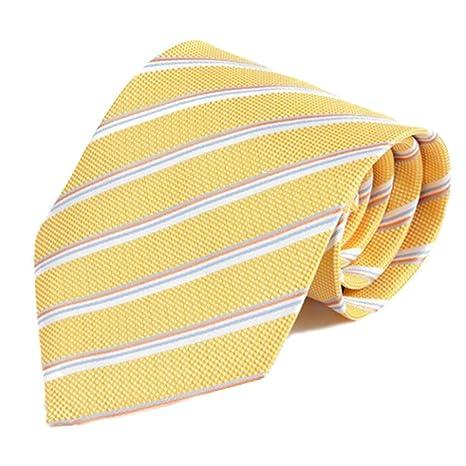 Y-WEIFENG Corbata de Hombre Traje Fino Corbata de Negocios Corbata ...