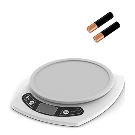 digital kitchen scale weigh food in grams and ounces 15lb capacity