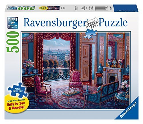 Ravensburger The Sitting Room Large Format Puzzle (500-Piece) by Ravensburger