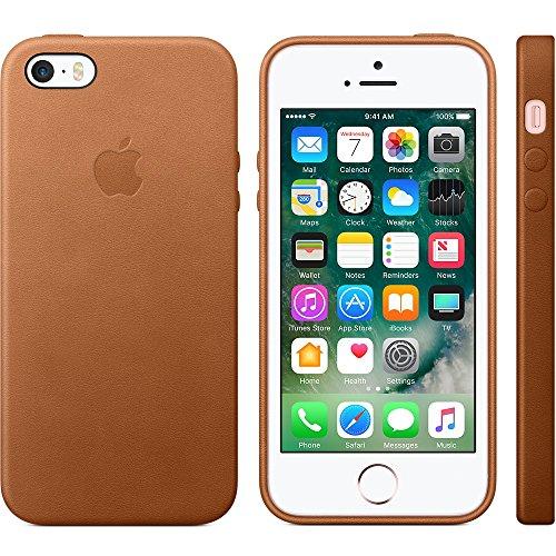 Apple mnyw2zm/A Étui de protection en cuir pour Apple iPhone se Selle Marron