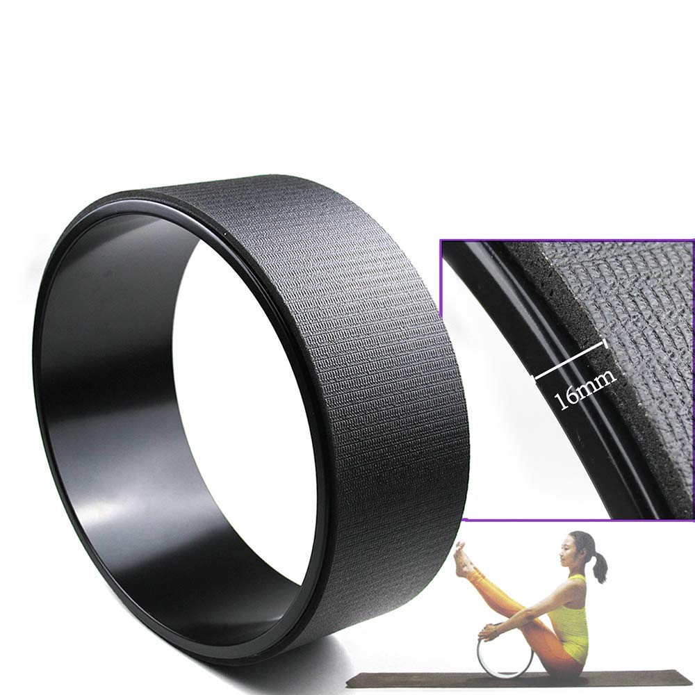TLP die Stärkste und Komfortabelste Dharma-Yoga-Haltung des Yoga Wheel Erhöht die Flexibilität und Verbessert die Taille 33  13Cm