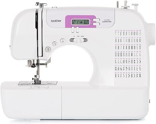 Brother CX70PE (Patchwork Edition) - Máquina de coser electrónica con 70 puntadas de costura (útiles, elásticas, decorativas), costura Automática, Display multifunción: Amazon.es: Hogar