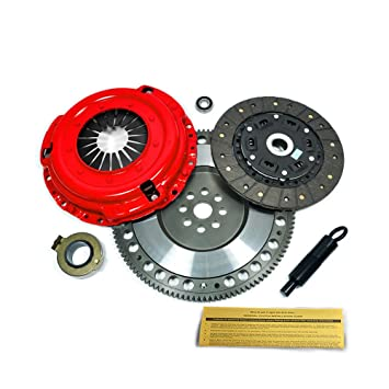 EFT etapa 2 Kit de embrague y 14,5 kg Carrera volante 1995 - 1999 BMW M3 Z3 E36 S50 S52: Amazon.es: Coche y moto