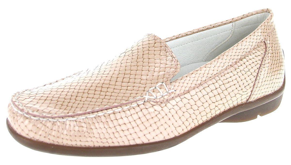 Waldläufer 431000-163-139 - Mocasines para Mujer Rojo Skin Weite H: Amazon.es: Zapatos y complementos