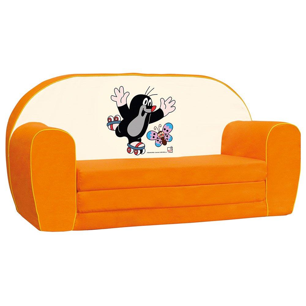 Bino License 13782 Bino Mini Sofa, Colour-Orange