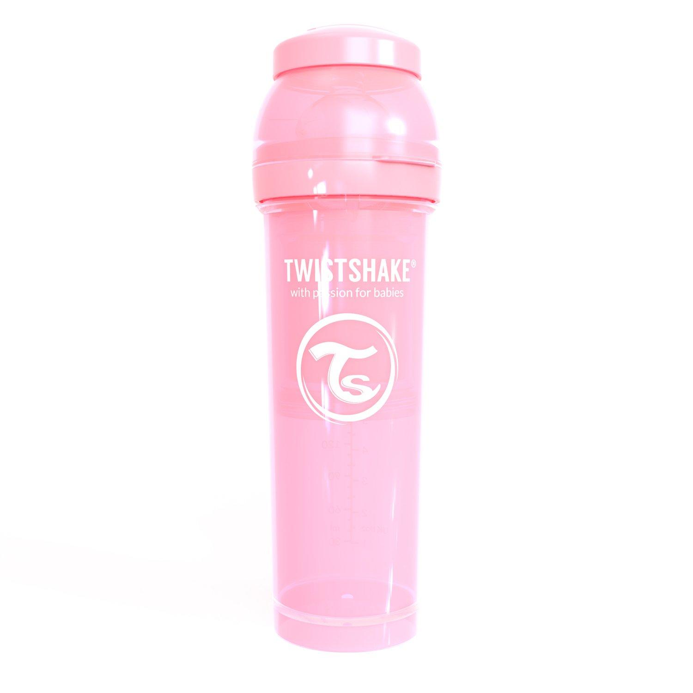 Twistshake 78261 - Biberón, color pastel rosa