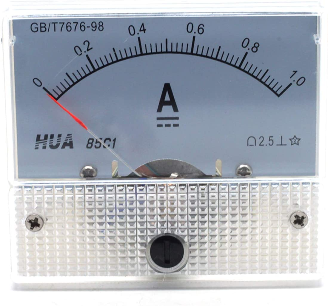 Mecion AC 0-1A Analog Current Panel 85L1 Pointer Type Ammeter