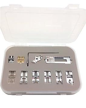 Kit de costura pies para Pfaff para máquina de coser Pfaff pie prensatelas Pfaff pie: Amazon.es: Juguetes y juegos
