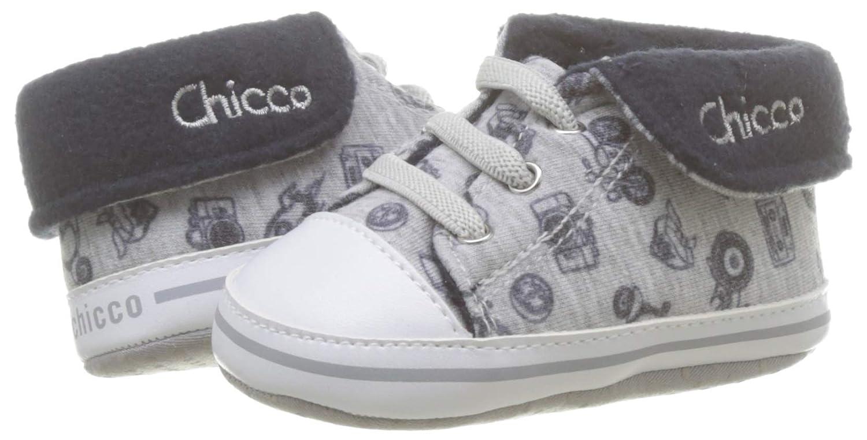 Chicco Polacchino Naval 19 EU Sneaker Bambino Grigio 040 Grigio