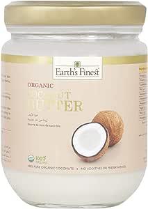 Earth`s Finest Organic Coconut Butter - 200 Ml