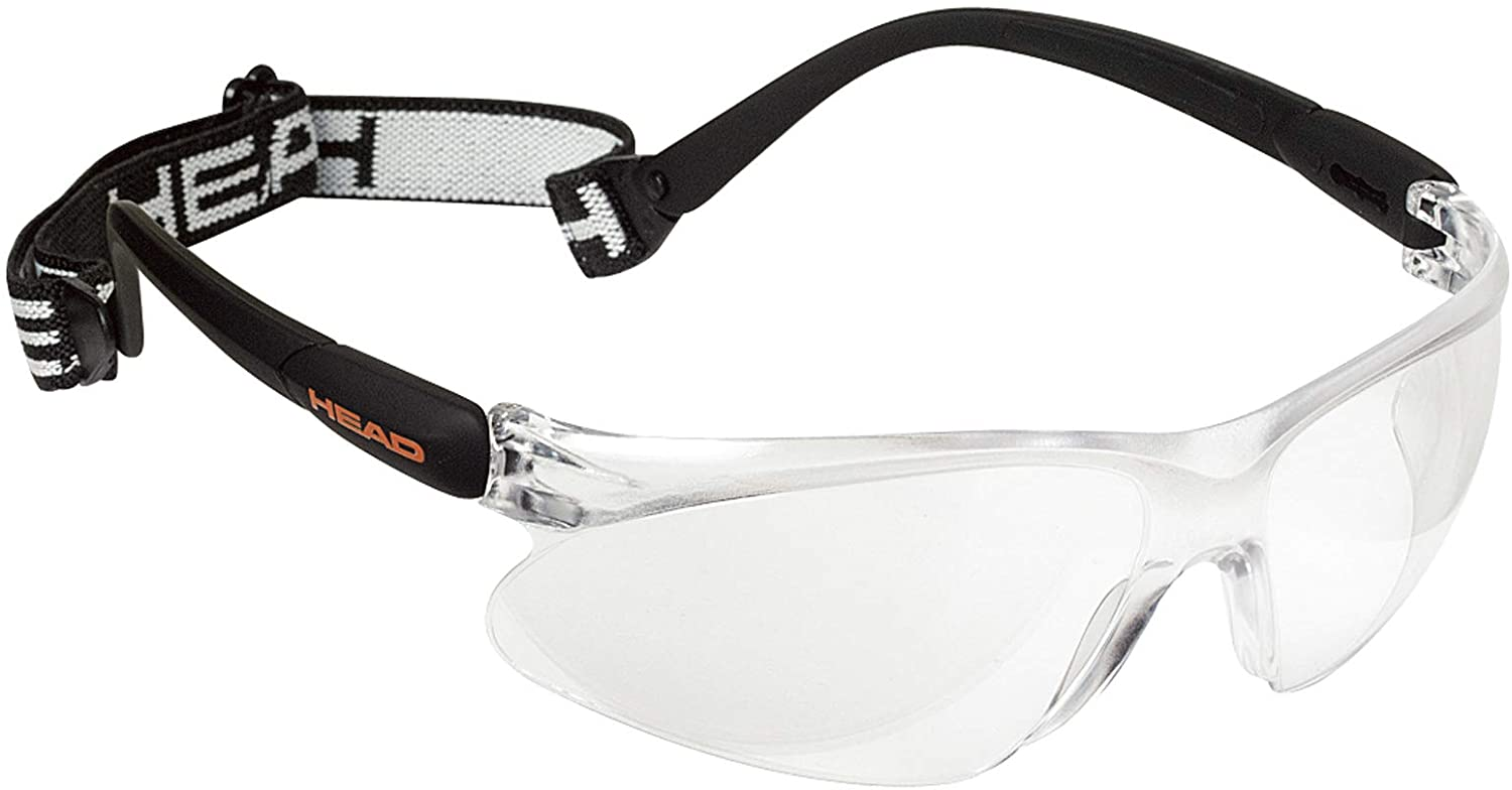 Pro Elite Anti Fog /& Scratch Resistant Protective Eyewear w// UV Protection HEAD Racquetball Goggles