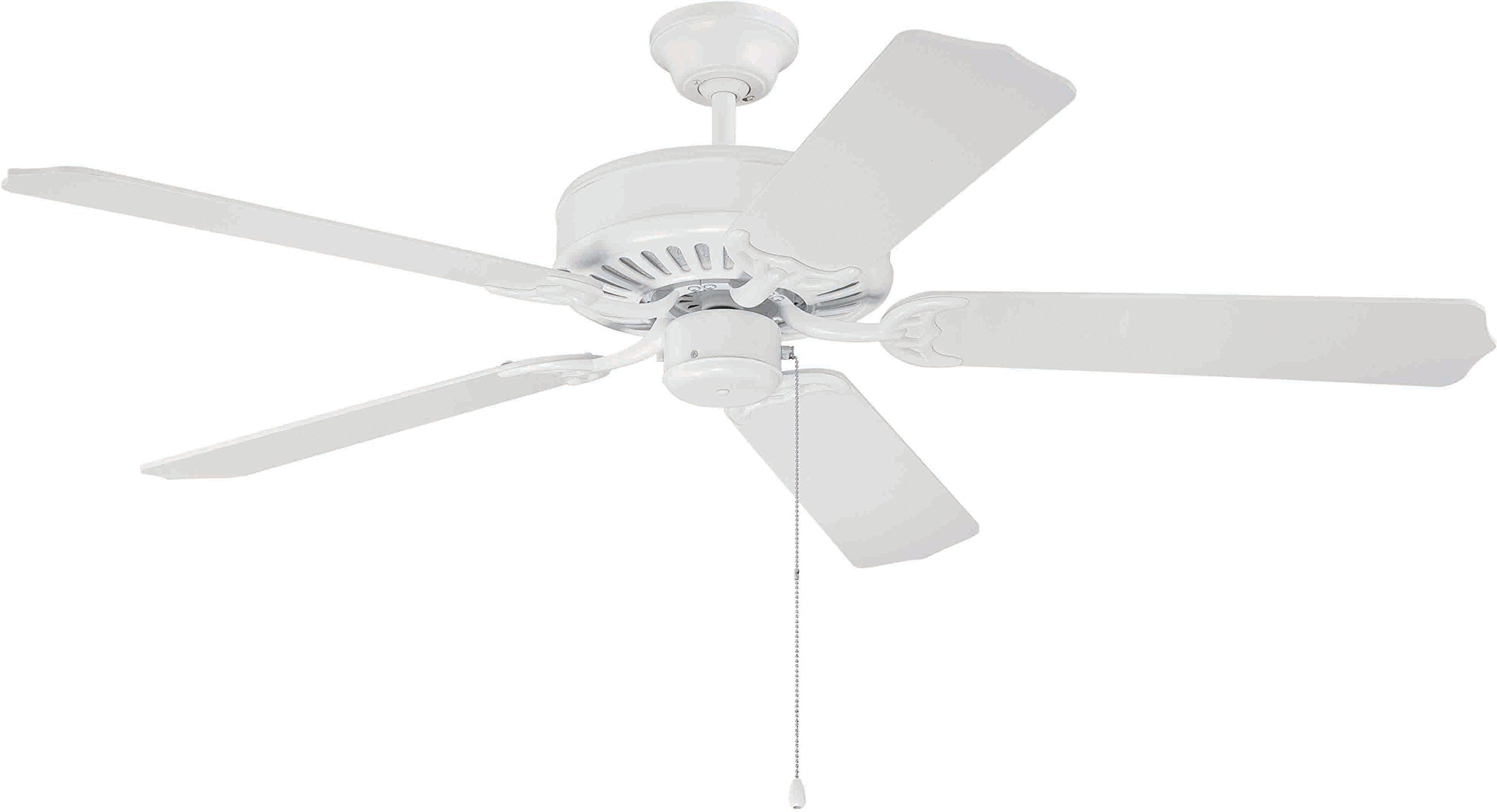 Craftmade K10621 Ceiling Fan Motor with Blades Included, 52''
