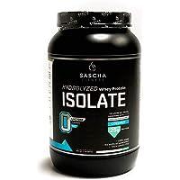 Sascha Fitness Suplemento de Proteínas, Coco, 907 g