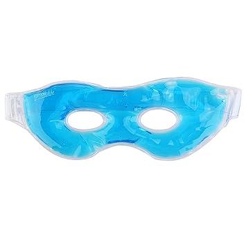 healifty Gel Ojo Máscara Terapia Relajante tranquilizadora reutilizables Ojo Máscara frío/caliente Belleza Dormir Hielo Gafas (Azul): Amazon.es: Salud y ...