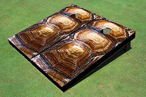Corn 12 Shells - Floating Pong Tortoise Shell Cornhole Set, 1x2 (12