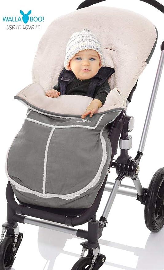 Wallaboo Manta arrullo de invierno para bebé, es ideal para cochecitos de bebé, universal Maxi Cosi, ...