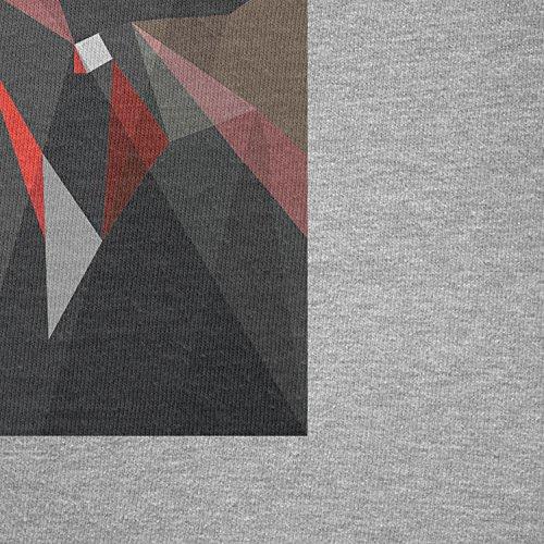 TEXLAB - Dark Art - Herren T-Shirt, Größe M, grau meliert