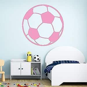 Ajcwhml Pegatinas de Pared de fútbol habitación Infantil decoración Infantil habitación Infantil calcomanía de Vinilo decoración Mural Desmontable 43cm X 42cm: Amazon.es: Hogar