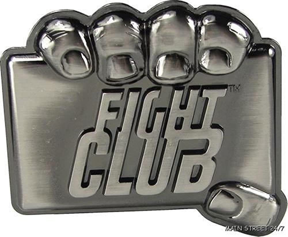 FIGHT CLUB Tyler Durdan Metal BELT BUCKLE