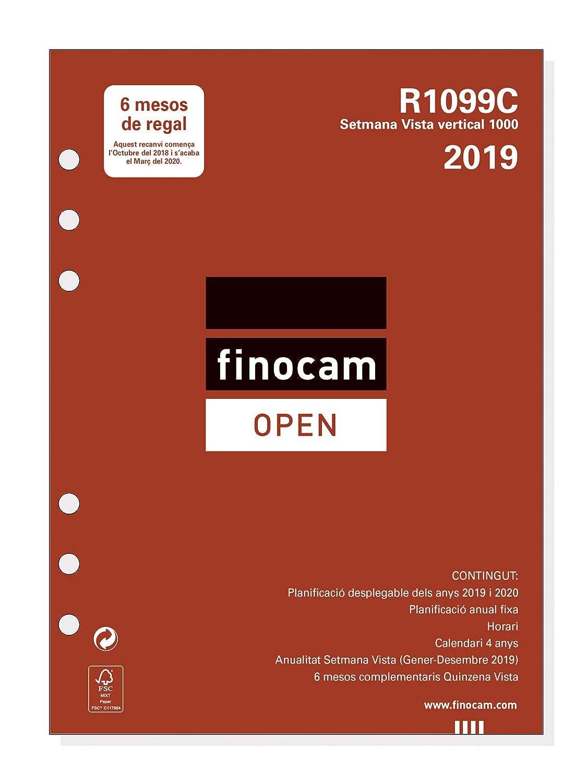 Recambio anual 2019 catalán