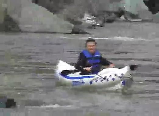 Amazon.com: Sea Eagle 330 kayak inflable con empaque deluxe ...