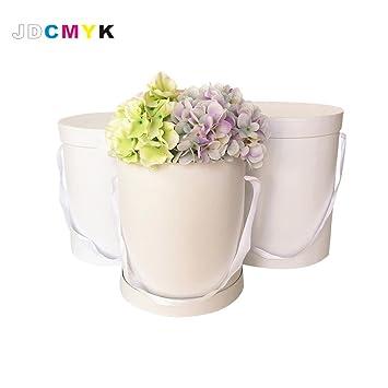 Sechs Farbe wählen 3/Set Good zur Qualität Blumen Box rund, reine ...