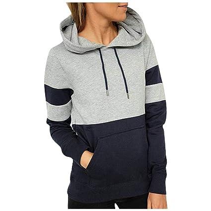 Damen Kapuzenpullover Mädchen Teenager Sweatshirt